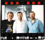 1992  Ray Minhinnett and I with Eric Clapton