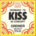 Mama Concerts Passes x 4 for bands Quo played with in Germany in the seventies.